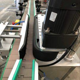 Detalls de la màquina d'etiquetatge doble cara frontal i posterior automàtica