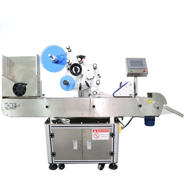 Màquina d'etiquetatge d'adhesius de vial horitzontal automàtica