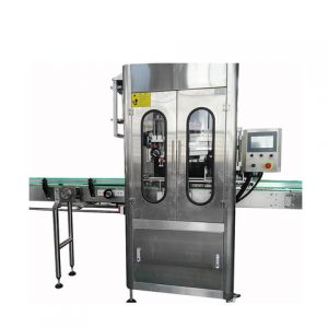 Factory Automatic Sticker Container Labeler Labeling Machine