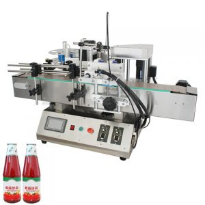 Full Flat Top Side Condiment Bag Labeling Machine