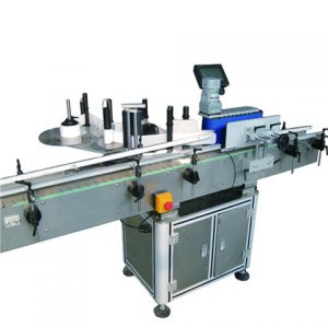 Automatic Sticker Paper Plastic Glass Tube Labeling Machine