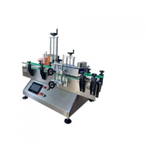 Automatic Youghut Cups Bottom Sticker Labeling Machine