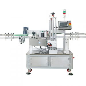 Round Bottle Wrapping Labeling Machine