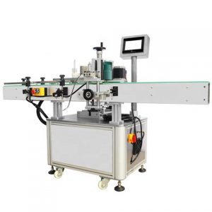 Custom Electric Bottle Orientation Labeling Machine With Turntable