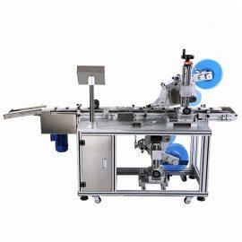 Detalls automàtics de la màquina d'etiquetatge pla superior i inferior