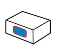 Etiquetador lateral de cartró