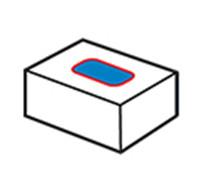 Etiquetador superior de cartró