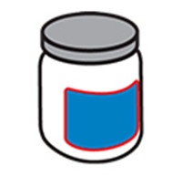 Etiquetatge d'ampolla rodona